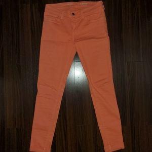 Vans peach jeans